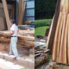 屋根化粧材の荒挽き