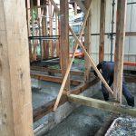 防湿用土間コンクリート打設