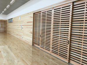 多目的室 木製建具