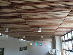 杉板目透かし天井