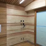 杉板壁の色合わせ修理