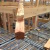 城屋根の家 隅木施工