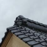 城屋根の家 さお縁目透し天井