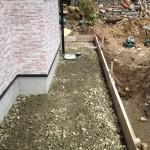 城屋根の家 仏壇と下駄箱の設置