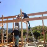 ロフト付き離れ新築工事