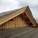 城屋根と釈迦堂川花火大会