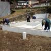 土台敷きと基礎パッキン
