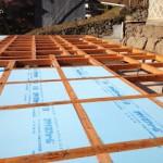 土台敷き 鋼製束